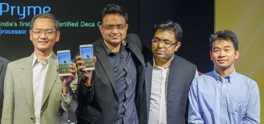 hyve Pryme Deca Core phone