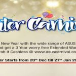 Celebrate New Year With Winter Carnival Offer On All Asus PC Products