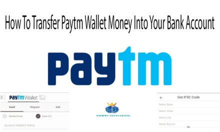 How to transfer paytm money to your bank account