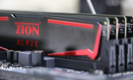Experience the latest Xtreme Gaming RAM – ZION BLAZE DDR4