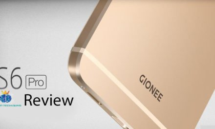 Gionee S6 PRO Review: Amazing Selfie And Long Battery Standby