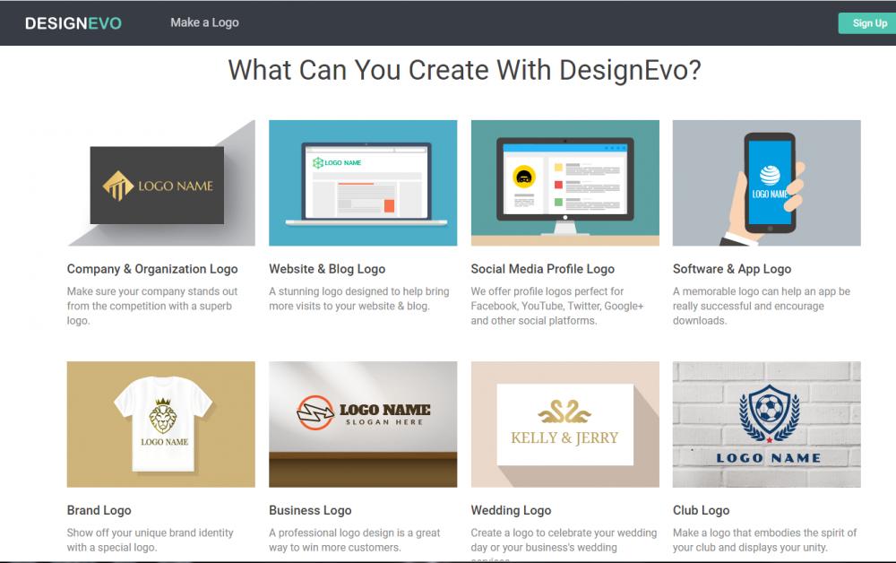 Designevo Review The Best Online Logo Design And Build Platform