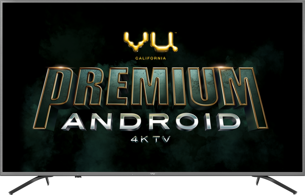 VU Premium Android TV with Android OS 8.0 Oreo