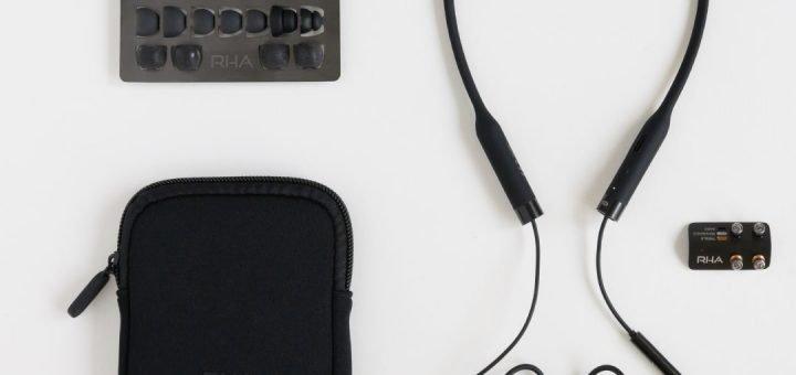 RHA T20 Wireless headphones kit