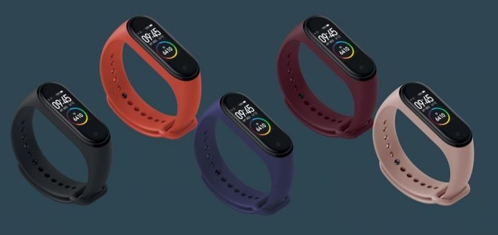 Xiaomi Mi Band 4 Design and Color available with the band