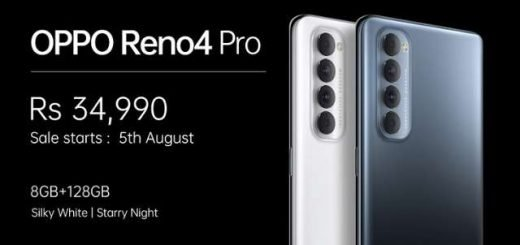 OPPO RENO 4 PRO Price in India and Sale Date